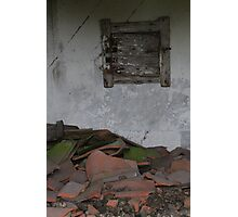 Old farm. Someone used to live here. Elverum, Norway. Photographic Print