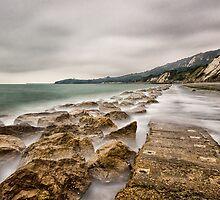 The Warren Seascape by Ian Hufton