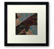 FRACTURE VIII Framed Print