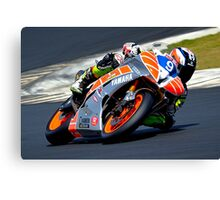 Aiden Wagner #9 | FX Superbikes Rd5 | 2013 Canvas Print