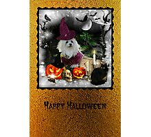 Happy Halloween Card Photographic Print