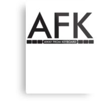 AFK - away from keboard Metal Print