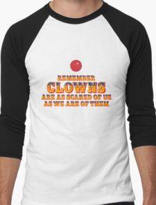 Scared Of Clowns Men's Baseball ¾ T-Shirt