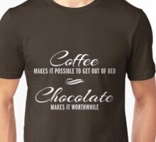 Coffee and Chocolate Unisex T-Shirt