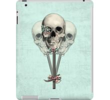 Eternally Sweet Skull Lollipops  iPad Case/Skin