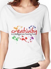 Creativity Women's Relaxed Fit T-Shirt