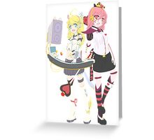 ARCADE ALICE Greeting Card