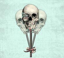 Eternally Sweet Skull Lollipops  by KristyPatterson