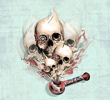 Faded Youth Smoke skulls. by KristyPatterson
