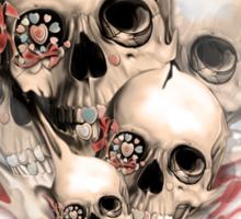 Faded Youth Smoke skulls. Sticker