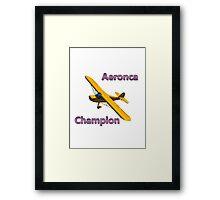 Aeronca Champion Framed Print