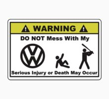 Warning Volkswagen (VW) by vincepro76