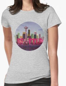 Seattle Womens Fitted T-Shirt