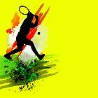 Tennis (or Squash) player by nikavero