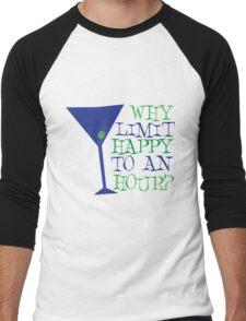 Happy Hour Men's Baseball ¾ T-Shirt