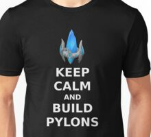 Keep Calm and build PYLONS Unisex T-Shirt