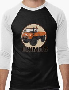 UNIMOG Men's Baseball ¾ T-Shirt