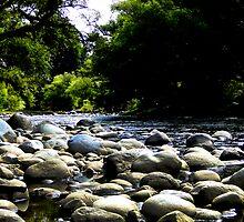 The River Of Rocks by Al Bourassa