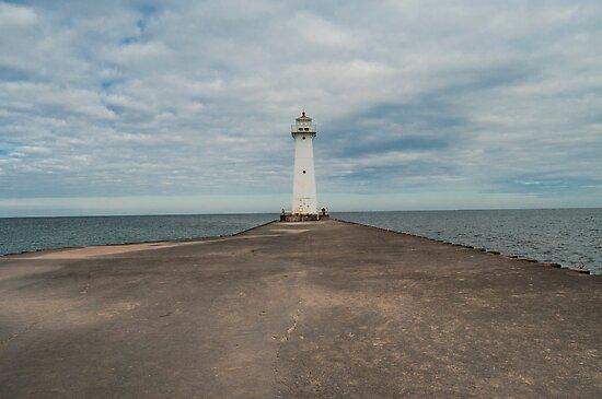 Sodus Point Lighthouse, New York by KathleenRinker