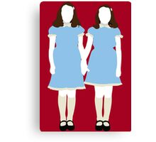 The Grady Girls - The Shining Canvas Print