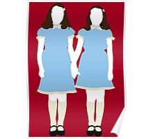 The Grady Girls - The Shining Poster