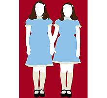 The Grady Girls - The Shining Photographic Print