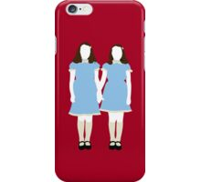 The Grady Girls - The Shining iPhone Case/Skin