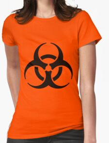 Infectious Substance Womens Fitted T-Shirt