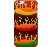 Hot chilies iPhone Case/Skin