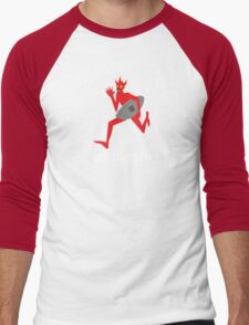 Mephisto - WW1 German Tank Mascot Men's Baseball ¾ T-Shirt