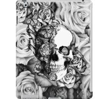 Ladybug Rose skull.  iPad Case/Skin