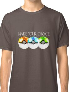 Pokemon - Make Your Choice Classic T-Shirt
