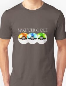 Pokemon - Make Your Choice T-Shirt
