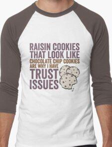 Raisin Cookies Men's Baseball ¾ T-Shirt