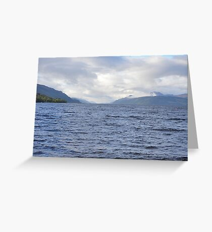 Loch Ness from Dores Greeting Card