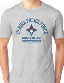 Uchiha police force Unisex T-Shirt