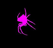 Pink Spider by kwg2200