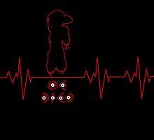 Heartbeat Lost Silver by K-Star-1337