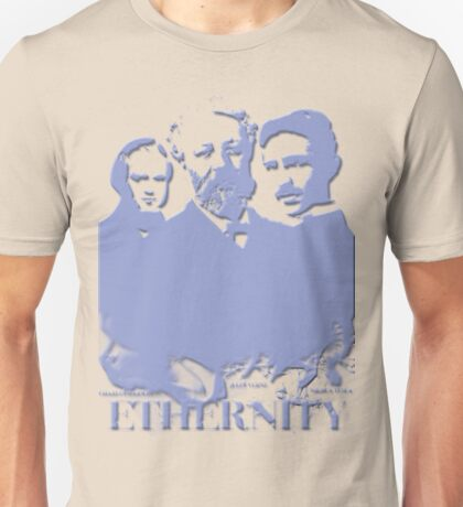 Ethernity in blue Unisex T-Shirt