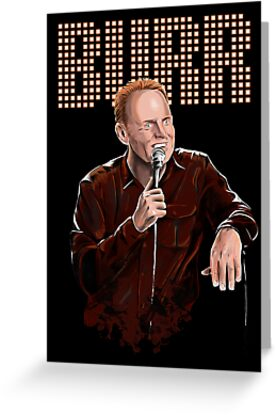 Bill Burr - Comic Timing by uberdoodles