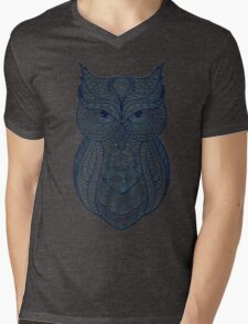 The sign of the Owl Mens V-Neck T-Shirt