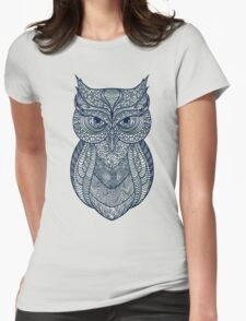 The sign of the Owl Womens Fitted T-Shirt