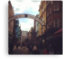 Carnaby Street Canvas Print