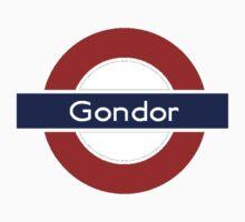 Middle-Earth Tube Station - Gondor by Vaeyne