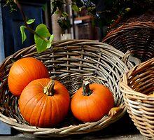 Pumpkins by Tobias King