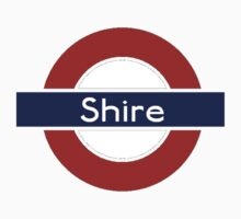 Middle-Earth Tube Station - Shire by Vaeyne