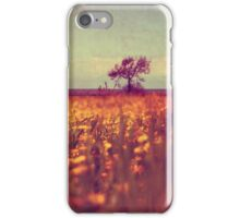 lying in a field of daisies iPhone Case/Skin