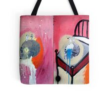 DEATH IS ALL AROUND Tote Bag