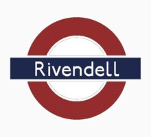 Middle-Earth Tube Station - Rivendell by Vaeyne