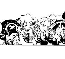 One Piece Tea Time by SergiosRavioli
